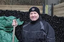 Vedoucí Uhelných skladů v Jihlavě Jan Anděl.