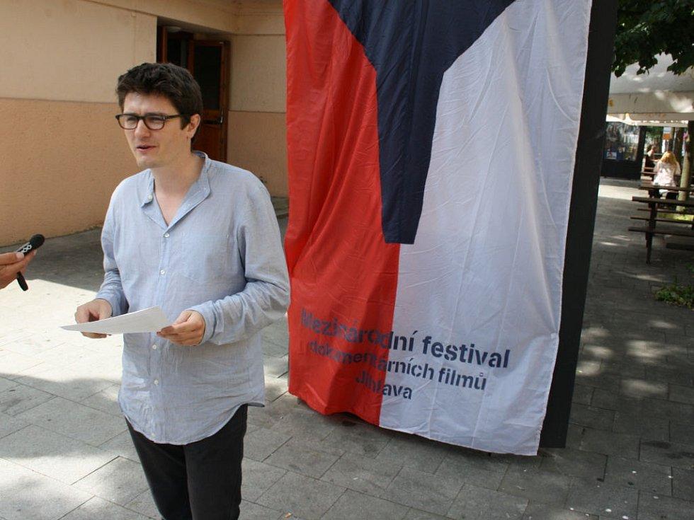 Marek Hovorka představil festivalový plakát.