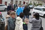 Protesty v Dolní Cerekvi.