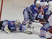 Předchozí čtyři utkání Horácké Slavie na domácím ledě rozhodovaly až nájezdy. Tříbodové výhry se tak třebíčští fanoušci dočkali až při šestém domácím zápase.