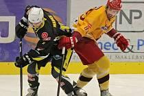 Hokejisté Kadaně dokázali Jihlavě nasázet tři góly v rozmezí pouhých padesáti čtyř sekund. Položili tak základ vítězství 7:4.