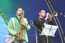 Už po třetí se v sobotu odpoledne sešli milovníci jazzu na hradě Roštejn nedaleko Třeště.