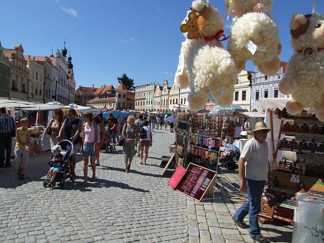 Tradiční  letní jarmark v Telči