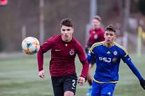 Přípravné fotbalové utkání mezi FC Vysočina Jihlava a AC Sparta Praha B ze dne 19. února 2020 v Jihlavě.