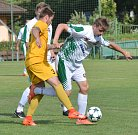 Fotbalisté Luk (ve žlutém) se s Rantířovem nemazlili. Na jeho hřišti mu dali šest gólů!