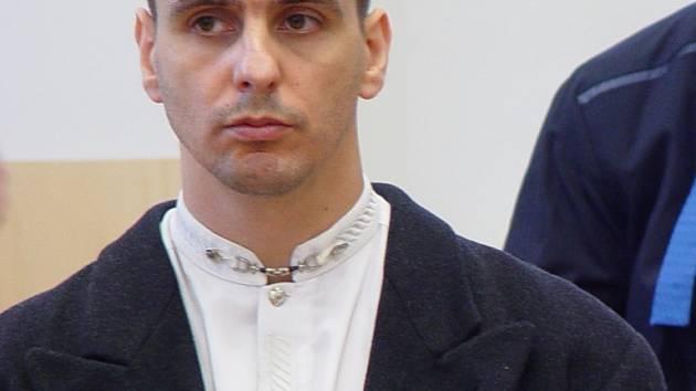 Obžalovaný. Martin Foltýn u soudu.