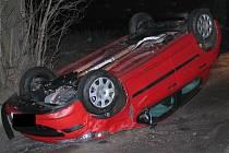 Těžkou nohu na plynu měl řidič osobního vozu Peugeot jedoucí z Větrného Jeníkova do Jihlavy.