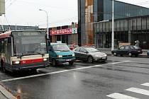 Jihlavské obchodně - zábavní  centrum City Park.