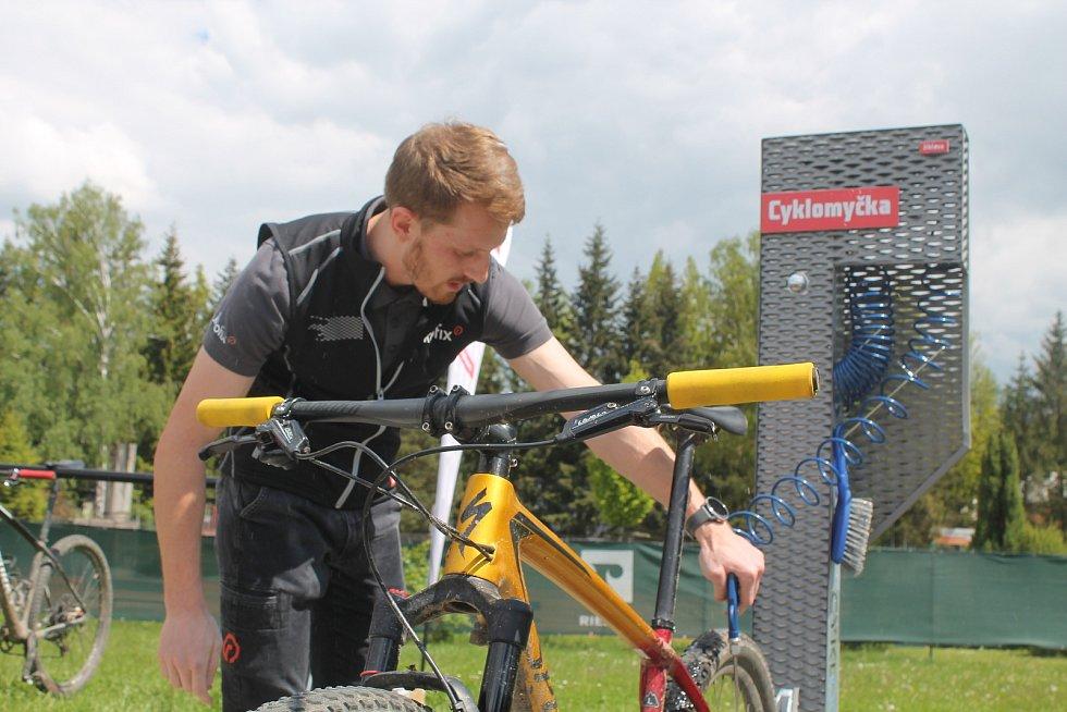Jihlavská cyklomyčka je celorepublikový unikát. Radnice věří, že se rozšíří i do dalších měst.