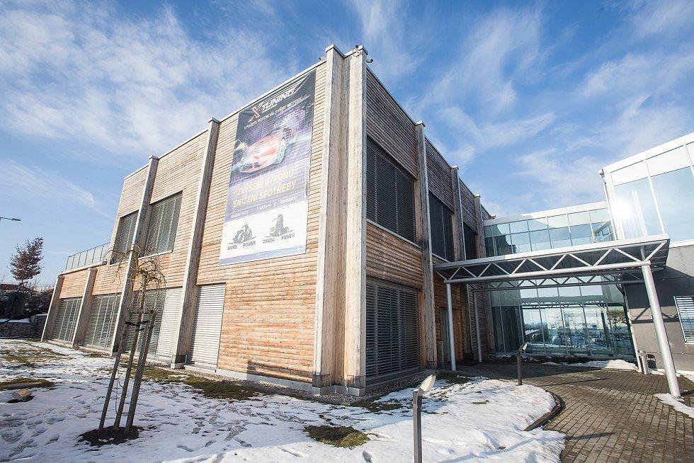 Očkovací centrum v Hruškových Dvorech.