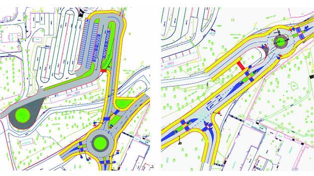 O novém kruhovém objezdu se v Jihlavě uvažuje například v Brněnské ulici. Objezd by mohl vzniknout v místě, na kterém sjíždějí řidiči směrem k zoologické zahradě.