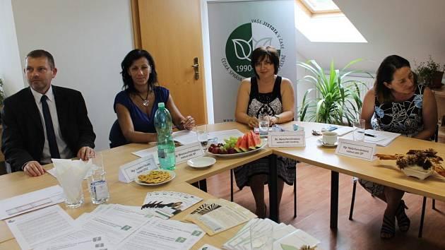 Okresní zpráva sociálního zabezpečení v Jihlavě.
