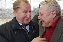 Jaroslav Pitner (vlevo) odešel ve věku třiaosmdesáti let
