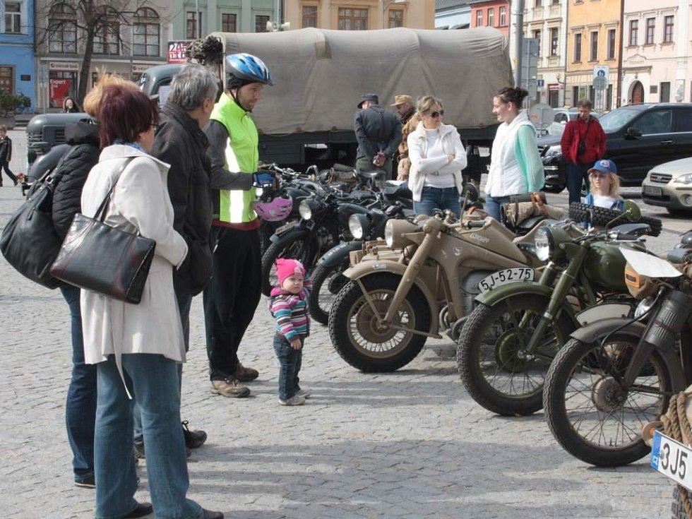 O štít města Jihlavy.