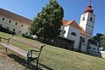 Zámecký kostel v Brtnici.