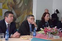 Na Vysočinu zavítal i ministr vnitra Jan  Hamáček (ČSSD).
