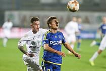Utkání mezi FC Vysočina Jihlava a FK Ústí nad Labem.