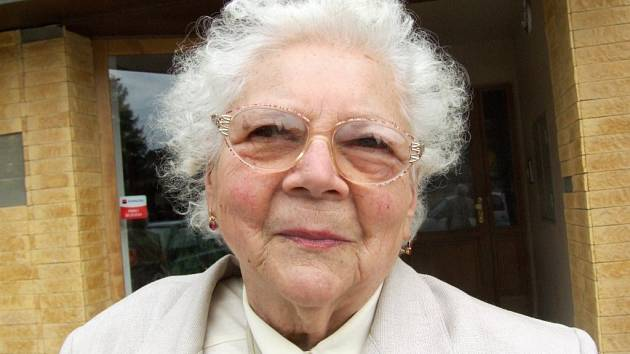 Na válku nelze zapomenout. Marie Vašatová rozená Matějů si dobře vzpomíná na hrůzy května 1945.