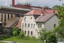 Rekonstrukce Brněnského mostu v Jihlavě.