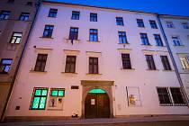 Jihlavské kulturní instituce oslavily deset let DIODu nasvícením do zelena.