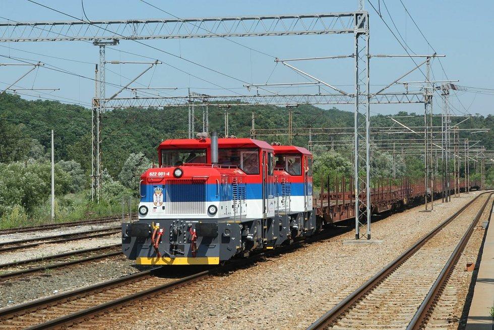 EffiShunter 300 srbského správce tratí Infrastruktura Železnicje Srbije.