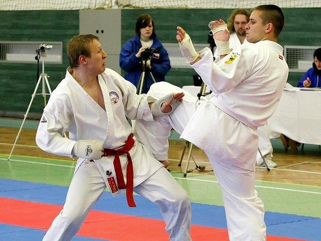 Nejatraktivnější podívanou nabídl v Chotěboři sportovní boj - Kumite