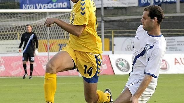 Další výhra. Také v pátém domácím utkání udrželi jihlavští fotbalisté stoprocentní bilanci.