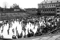 Zimní stadion v Jihlavě.