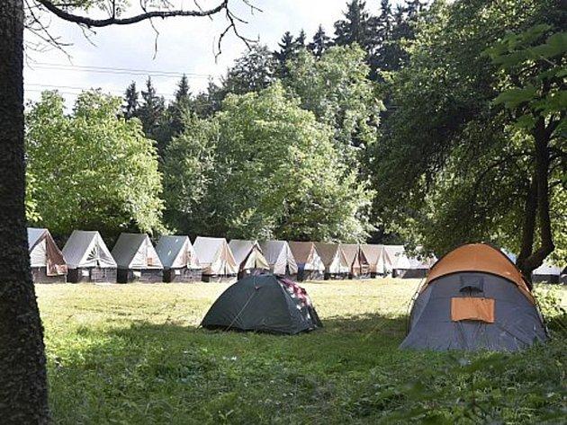 Tábor Kratizna v Hodicích.