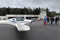 Letiště Jihlava-Henčov. Ilustrační foto
