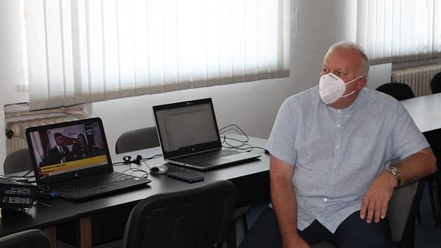 Smutný předseda ČSSD na Vysočině Petr Krčál.