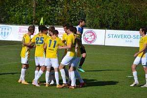 Fotbalisté FC Vysočina Jihlava poztráceli v závěrech utkání devět bodů.
