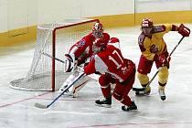 Hokejisté jihlavské Dukly prohráli i ve svém druhém přípravném zápase. S favorizovaným Spartakem Moskva včera na domácím ledě prohráli o jediný gól.