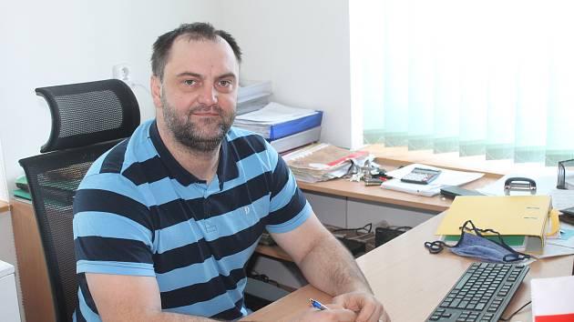 Starosta Věžnic na Havlíčkobrodsku David Drahoš.