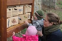 Nové interaktivní prvky  jsou určeny zejména dětem.