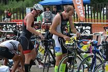 Při Jihlavském triatlonu byly k vidění skvělé výkony. Ty nejlepší podali Jaroslav Tuna a Michaela Matoušková.