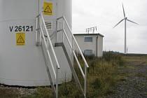 Dvoumegawattové větrníky se točí za humny Pavlova téměř dva roky