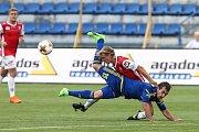 Zápas 2. kola Fortuna národní ligy mezi FC Vysočina Jihlava a FK Pardubice.