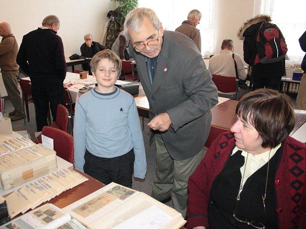 Mezi sběrateli se v Jihlavě objevovala také mladá nastupující generace, která se učila od starších.