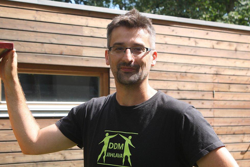 Ředitel Domu dětí a mládeže Jihlava Vilibald Prokop.