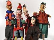 Takto vypadají marionety Václava Podsedníka.