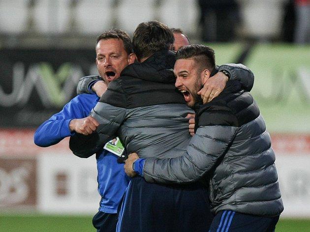 Zápas 24. kola první fotbalové ligy FC Vysočina Jihlava - FC Fastav Zlín.
