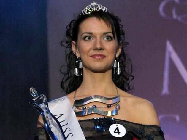 Vítězka soutěže Miss Vysočiny 2007 Michaela Pecková z Havlíčkova Brodu.