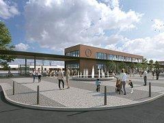 Studie centrálního dopravního terminálu počítá s lokalitou současné železniční zastávky Jihlava město.