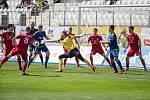 Utkání F:NL mezi FC Vysočina Jihlava a FK Fotbal Třinec, ilustrační foto