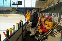 Mladí hokejisté Dukly v listopadu trénovali v Polsku.