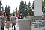 Pietní akt na ústředním hřbitově v Jihlavě