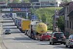 Jelikož se práce na odklízení zpozdily a dálnice byla otevřena o více než hodinu později, hustší ranní provoz způsobil dopravní komplikace v Havlíčkově Brodě.