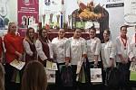 Mladé cukrářky z Třeště byly na lednových soutěžích úspěšné.