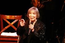Hana Hegerová zazpívá v Jihlavě.